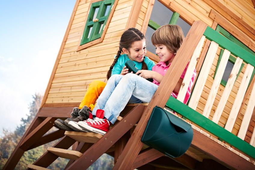 kinder-holz-spielhaus axi «max» comic kinderspielhaus auf stelzen, Schlafzimmer design