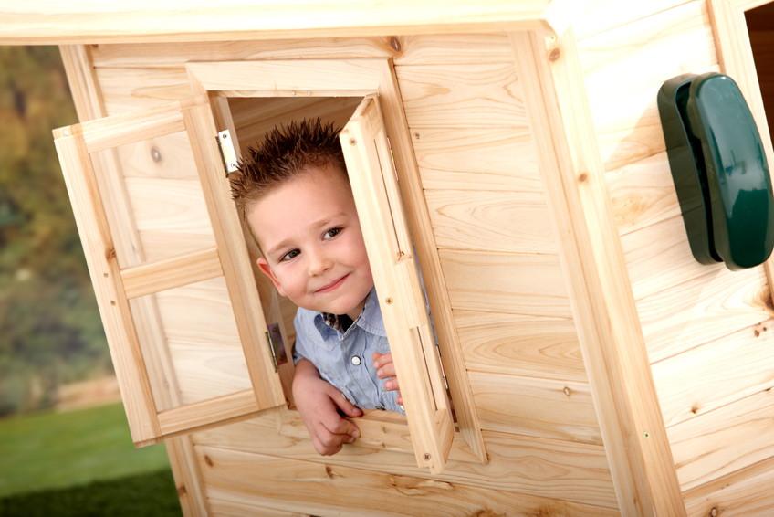 kinder holz spielhaus axi «noa» kinderspielhaus | online shop, Schlafzimmer design