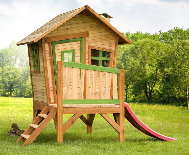 holz-kinder-spielhaus axi«robin» gartenhaus comic stelzenhaus, Schlafzimmer design