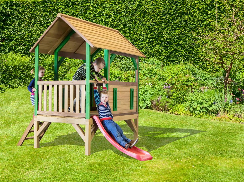kinder spielhaus holz axi safari akela kinder holzhaus. Black Bedroom Furniture Sets. Home Design Ideas