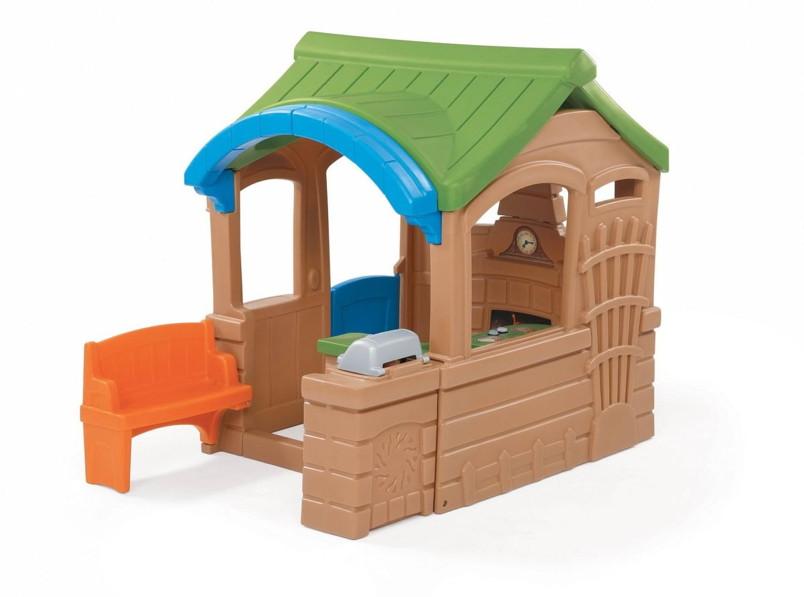 Kinder-Spielhaus «Grillhaus» Kinderhaus Kunststoff mit Küche | vom ...
