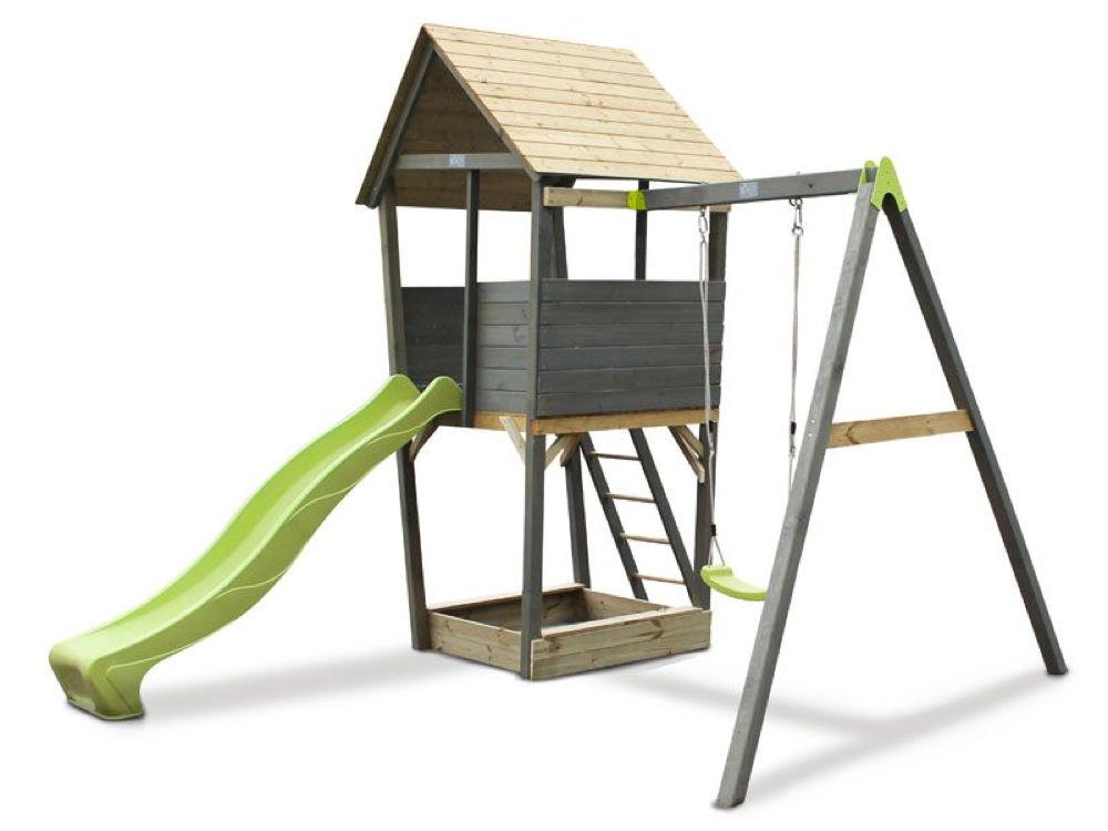 Relativ Kinder-Spielturm EXIT «Aksent» Spielturm, Einzelschaukel mit AB87