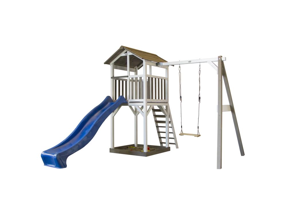 Hervorragend Kinder-Spielturm «Beach Tower Swing» Stelzenhaus Einzelschaukel XD71