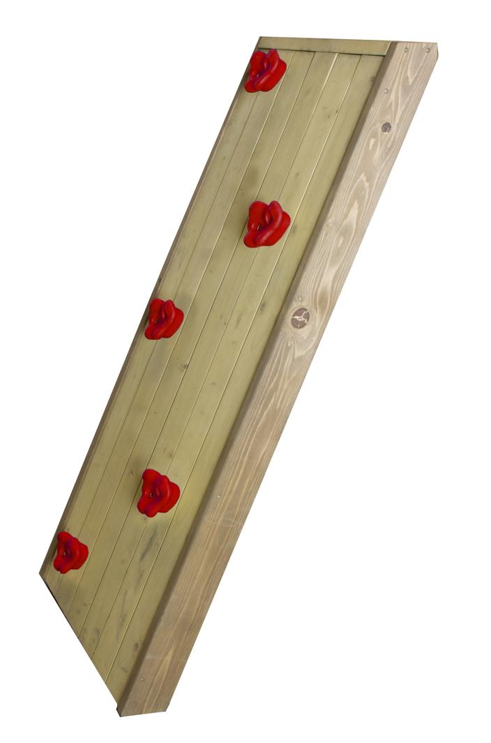 Holzrampe AXI «Kletterwand» Zubehör für Kinder-Spielturm | vom ...