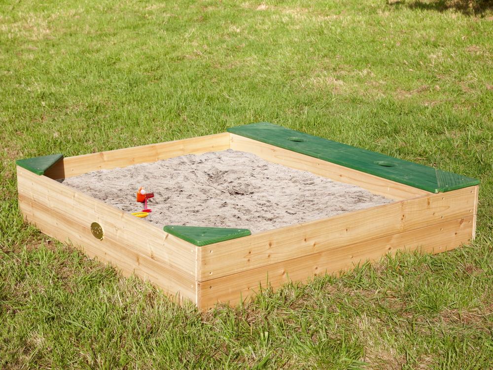 Fabulous Sandkasten Holz «Amy» Sandkiste Holzsandkasten   vom Spielhäuser AP78