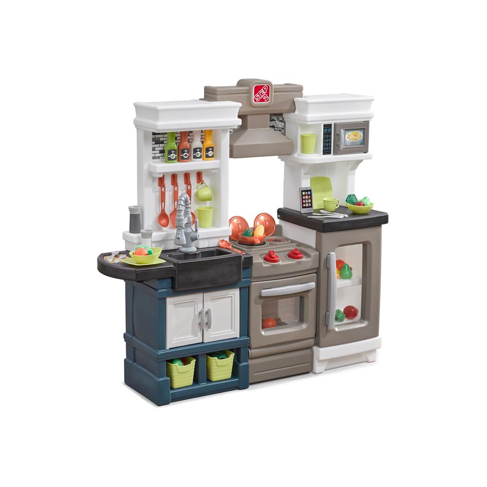 Kinderküche Step 2 «Modern Metro Küche» Kunststoff Küche Spielküche | vom  Spielhäuser-Fachhändler