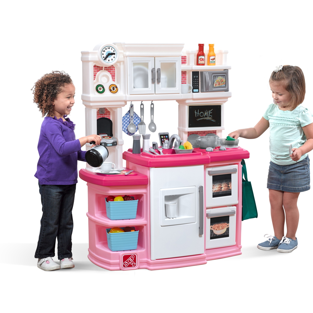 Kinderküche Step 2 «Great Gourmet Küche pink» Kunststoff Küche Spielküche |  vom Spielhäuser-Fachhändler